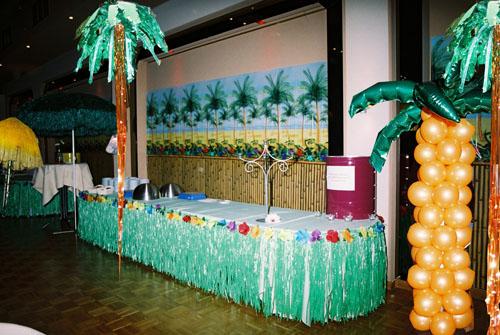 Tropische decoratie tropisch decor for Decoratie feest